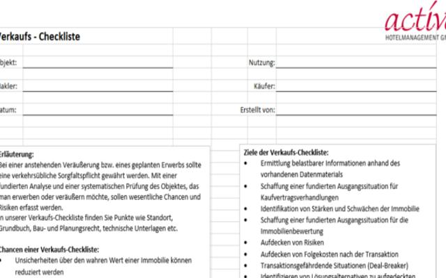 Ausgezeichnet Immobilien Checkliste Vorlage Bilder ...